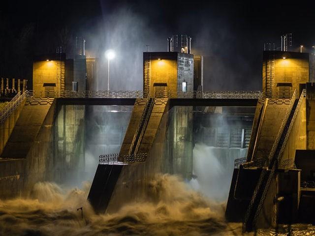 Stormy Dam