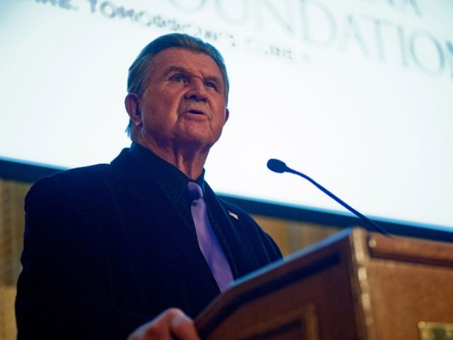 Mike Ditka Against Anthem Kneeling In New Football League, Leave the Country!