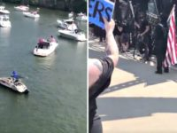 VIDEO: Protesters, Trump Supporters Clash During July 4th Boat Parade