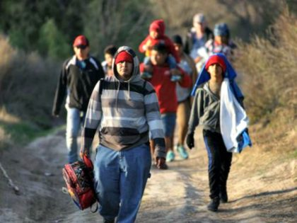 US-Mexico Border Crossers C. AguilarAFPGetty Images