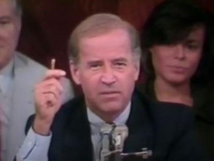 Joe Biden grills a black pastor during Senate hearing