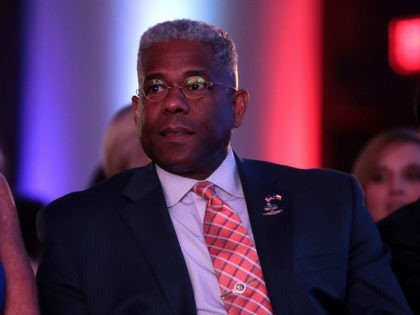 Former U.S. Congressman Allen West at the 2019 Teen Student Action Summit hosted by Turning Point USA at the Marriott Marquis in Washington, D.C.