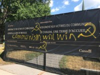 'Communism Will Win': Vandals Deface Victims of Communism Memorial Site