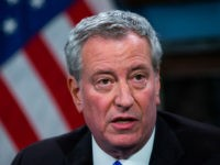 Bill de Blasio Blames NYC's Surging Violence on Guns