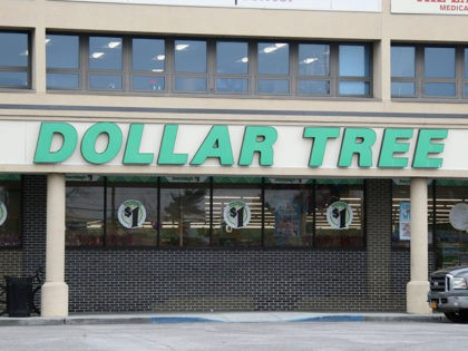 WESTBURY, NEW YORK - MARCH 20: A general view of a Dollar Tree store sign as photographed on March 20, 2020 in Westbury, New York. (Photo by Bruce Bennett/Getty Images)