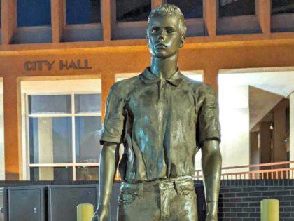 epstein-statue KOAT Albuquerque