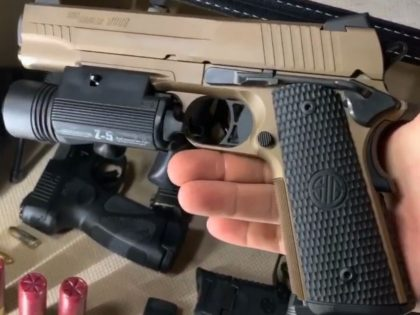 The Emperor Scorpion is a full-sized pistol with the all levers and standard operational features 1911 owners love and trust, plus one more thing---21st century, Sig Sauer refinement.