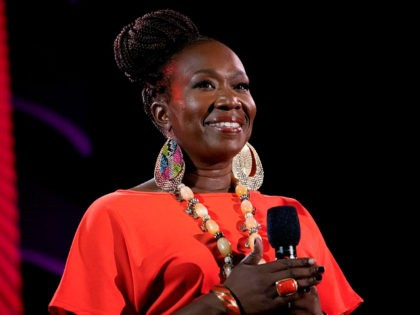 "FILE - Joy Reid speaks at the 2019 Global Citizen Festival on Sept. 28, 2019, in New York. MSNBC has picked Reid to fill the 7 p.m. hour that was vacated by longtime host Chris Matthews in early March. When Reid debuts her new show, ""The ReidOut,"" on July 20, …"