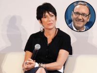 Ghislaine Maxwell Sat on Buckingham Palace Throne with Kevin Spacey