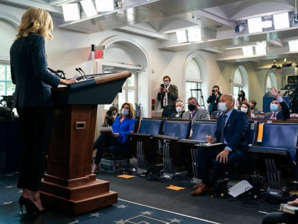 White House Press Secretary Kayleigh McEnany addresses her remarks at a White House press briefing Tuesday, May 12, 2020, in the James S. Brady Press Briefing Room of the White House. (Official White House Photo by Andrea Hanks)