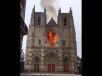 Arson Suspected After Fire Guts Nantes Cathedral, France