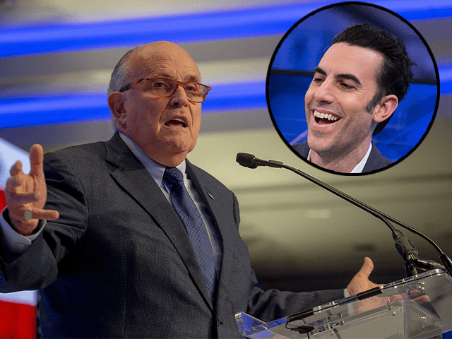Rudy Giuliani calls cops on Sacha Baron Cohen as suspected prank backfires