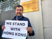 Italy's Matteo Salvini Slams Chinese Communists over Hong Kong