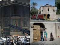 Fire Damages Junípero Serra's 249-Year-Old San Gabriel Mission Church