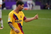 Messi tees up victory as Barcelona cling on to fading title hopes