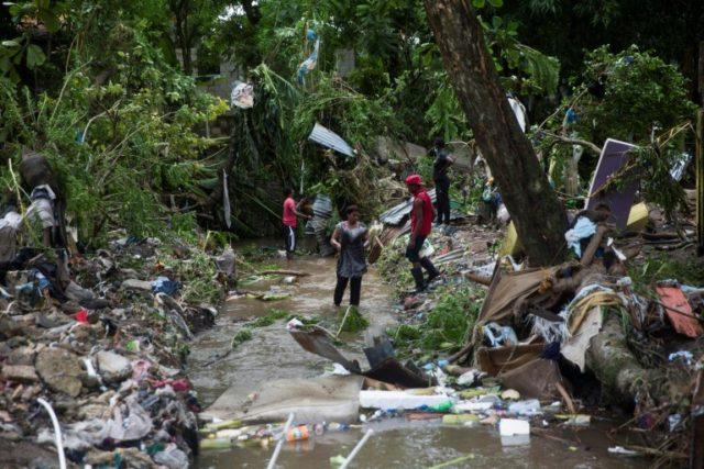 Hurricane Isaias lashes Bahamas on path to virus-hit Florida