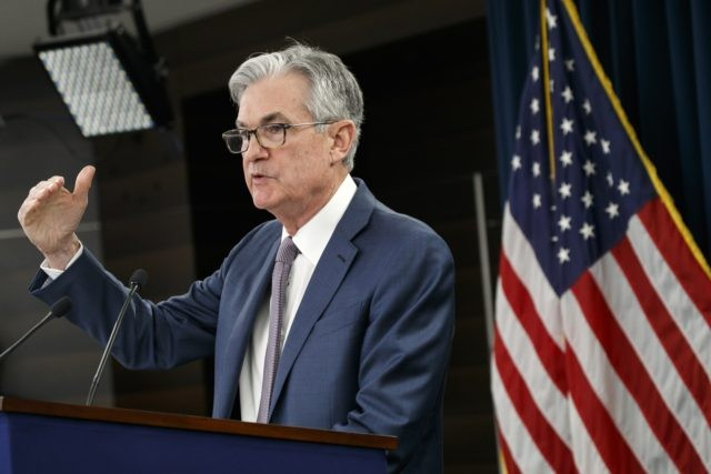 In this March 3, 2020 file photo, Federal Reserve Chair Jerome Powell speaks during a news conference to discuss an announcement from the Federal Open Market Committee, in Washington. Federal Reserve officials are grappling this week with the timing and scope of their next policy moves at a time when …