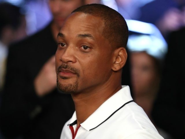 LAS VEGAS, NV - SEPTEMBER 15: Actor Will Smith is seen in attendance prior to the middleweight championship bout between Gennady Golovkin and Canelo Alvarez at T-Mobile Arena on September 15, 2018 in Las Vegas, Nevada. (Photo by Al Bello/Getty Images)