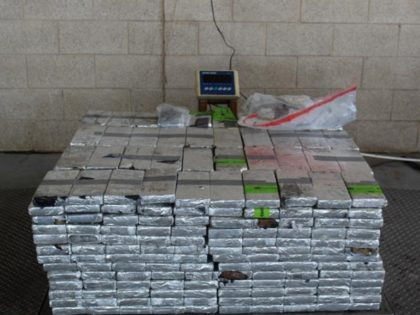 CBP officers seize nearly a half-ton of methamphetamine at the Pharr International Bridge in South Texas. (Photo: U.S. Customs and Border Protection/Rio Grande Valley Sector)