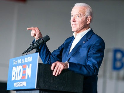 Joe Biden speaks at a Tougaloo College GOTV Event - Tougaloo, MS - March 8, 2020.