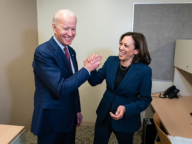 Joe Biden at a GOTV Event with Senator Kamala Harris at Renaissance High School - Detroit, MI - March 9, 2020