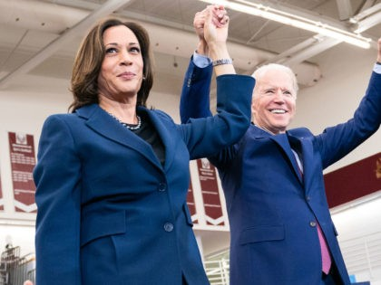 Joe Biden at a GOTV Event with Senator Kamala Harris at Renaissance High School - Detroit, MI - March 9, 2020