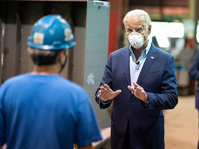 Joe Biden at Tour of McGregor Industries and Build Back Better Plan Press Conference - Dunmore, PA - July 9, 2020