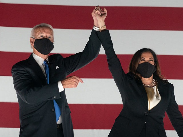 Joe Biden (with Kamala Harris) Accepts the Nomination for the Democratic Party's Ticket for President of the United States - Wilmington, DE - August 20, 2020