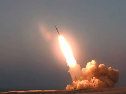 "This picture released by the official website of the Iranian Defense Ministry on Thursday, Aug. 20, 2020, is said to show the launching of the ""Martyr Hajj Qassem"" missile in an undisclosed location in Iran. Iran unveiled two new missiles on Thursday — National Defense Industry Day in Iran. They …"