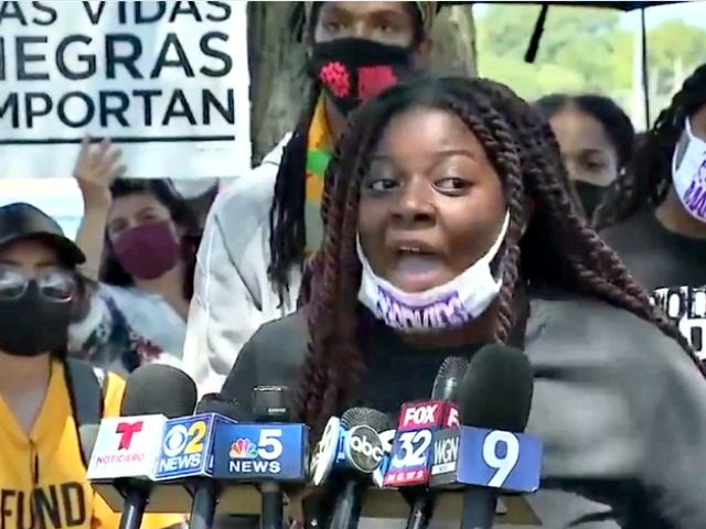 Chicago Activist Defends Looting