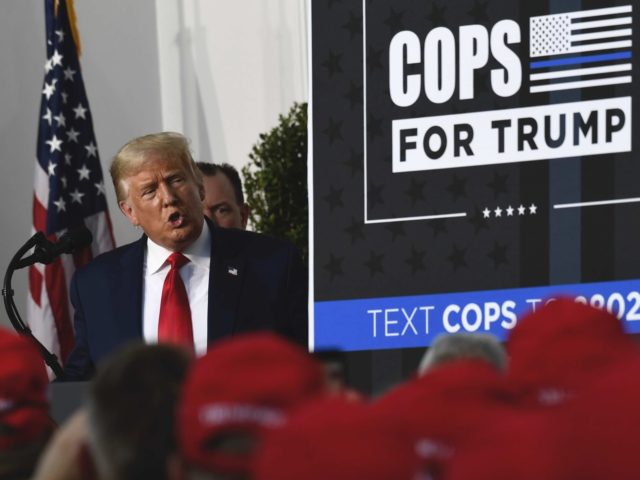 Cops for Trump (Associated Press / Susan Walsh)
