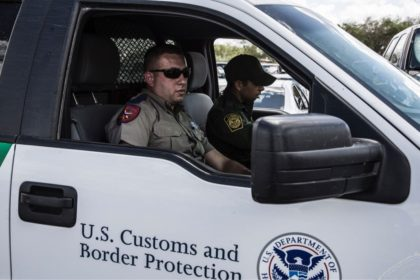 A Texas DPS trooper rides with a Border Patrol agent in South Texas. (File Photo: Texas Department of Public Safety)