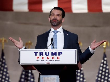 Donald J. Trump Jr. RNC (Olivier Douliery / Getty)