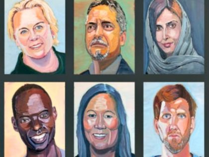 George W. Bush Portraits of Immigrants