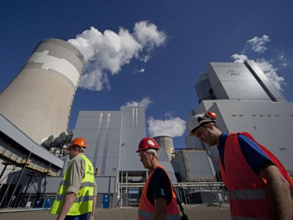 View of the Belchatow power plant on September 28, 2011 in Belchatow, near Lodz central Poland. Polands largest electricity producer PGE, started earlier this year, a new 858-megawatt generator at its Elektrownia Belchatow coal-fired power plant, one of the largest in the world. AFP PHOTO / DAREK REDOS (Photo by …