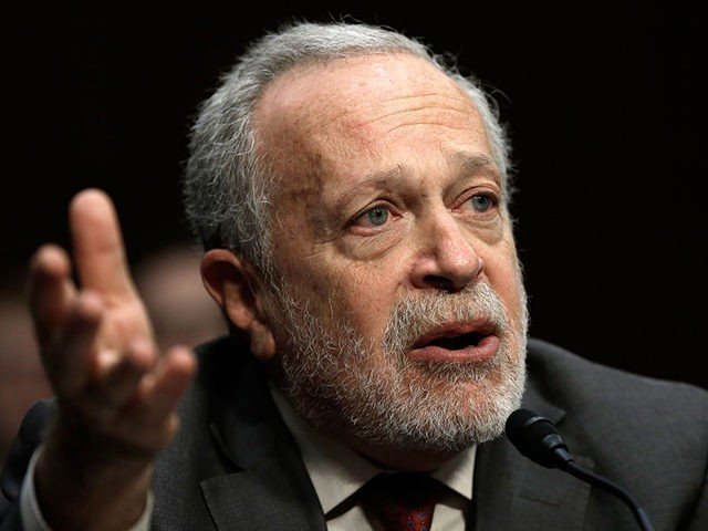 "WASHINGTON, DC - JANUARY 16: Former U.S. Labor Secretary Robert Reich testifies before the Joint Economic Committee January 16, 2014 in Washington, DC. Reich joined a panel testifying on the topic of ""Income Inequality in the United States.Ó (Photo by Win McNamee/Getty Images)"