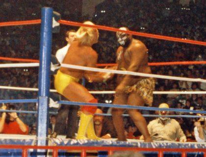 Hulk Hogan and Kamala (Scott Simpson / Flickr / CC / Cropped)