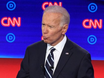 Joe Biden CNN debate (Jim Watson / AFP / Getty)