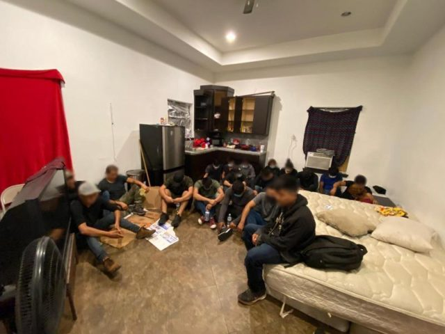 Border Patrol agents in Laredo find 20 migrants in a human smuggling stash house near the Texas border with Mexico. (Photo: U.S. Border Patrol/Laredo Sector)