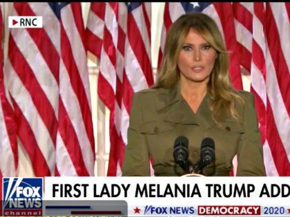Melania Trump Speaks at RNC