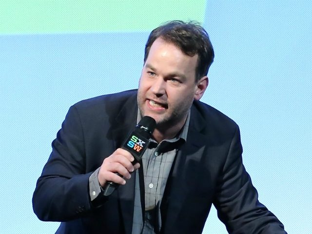 AUSTIN, TX - MARCH 15: Host Mike Birbiglia speaks on stage at the SXSW Film Awards Presented by Panasonic during 2016 SXSW Music, Film + Interactive Festival at Paramount Theatre on March 15, 2016 in Austin, Texas. (Photo by Neilson Barnard/Getty Images for SXSW)