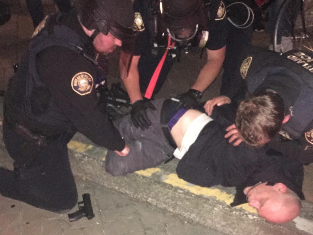 Portland Police July 5 arrest (Portland Police Bureau)