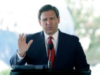 Exclusive — DeSantis Says Florida Will 'Immediately Sue' over Democrats' National Takeover of Elections