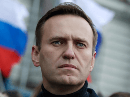 In this file photo taken on Saturday, Feb. 29, 2020, Russian opposition activist Alexei Navalny takes part in a march in memory of opposition leader Boris Nemtsov in Moscow, Russia. As Russia's most determined and durable opposition figure, Alexei Navalny has employed an astute understanding of social media and an …