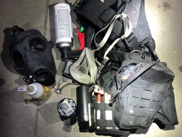 Sacramento confiscated weapons (Sacramento Police)