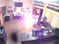 Portland Rioters Set Fire to Police Union, Attack Officers with Lasers