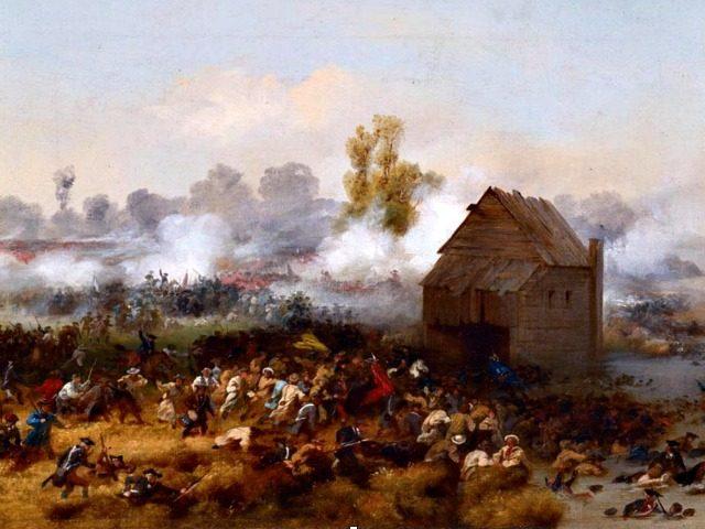 Battleoflongisland.jpg Washington's Immortals Stand during the Battle of Brooklyn