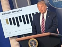 Donald Trump Promotes V-Shaped Economic Recovery During Coronavirus Pandemic