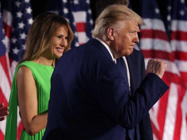 Trump fist speech RNC (Alex Wong / Getty)