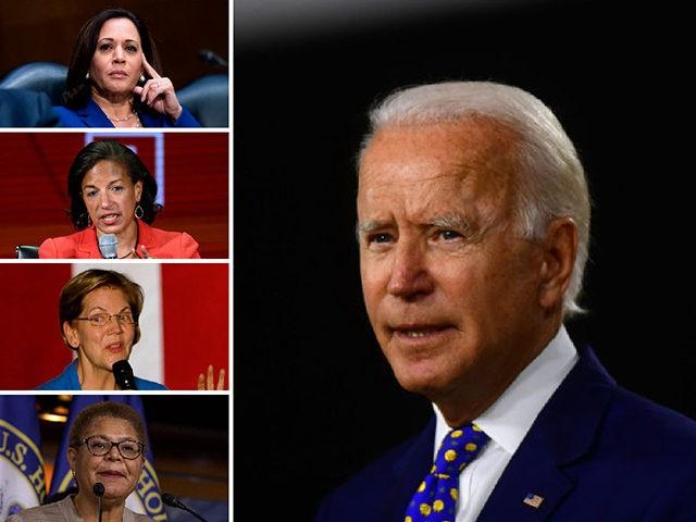 Joe Biden, vice president shortlist